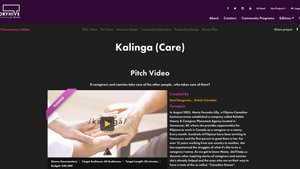 Kalinga (Care) bags a 2019 Storyhive Documentary Edition Grant
