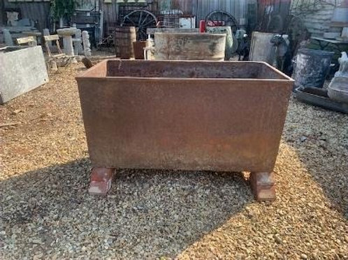 Foundry trough