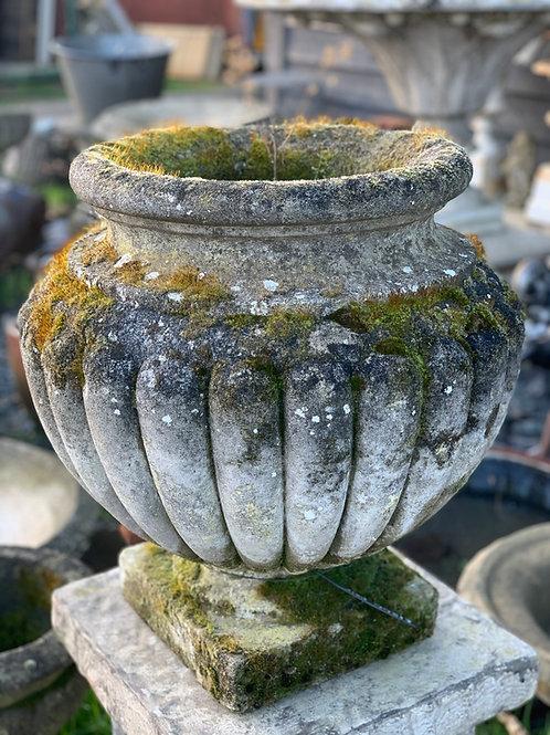 Stone planters (pair of)