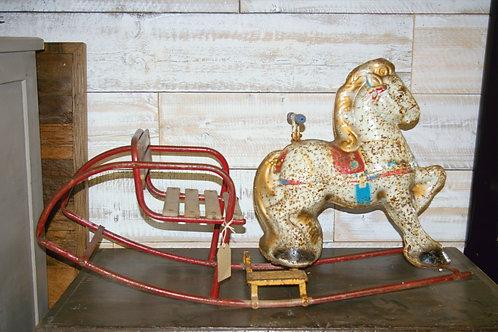 Tin Rocking Horse