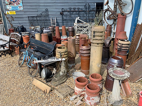 Selection of chimney pots