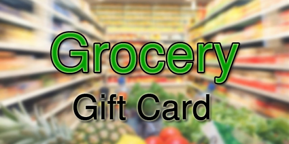 Giving of Grocery Gift Cards