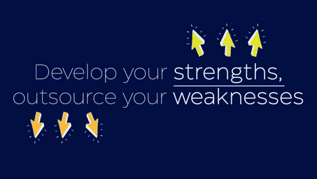 Want to succeed? Focus on your strengths 💪