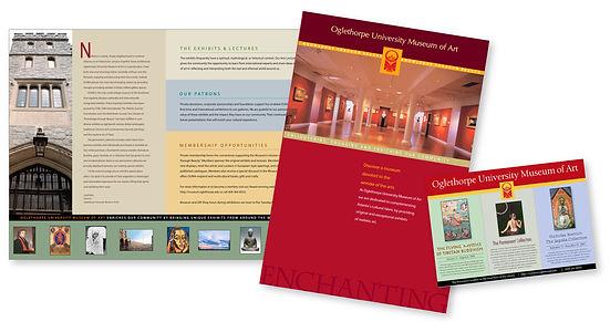 OU's Museum of Art Brochure