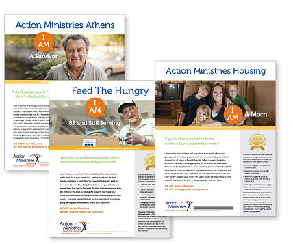 We Are Action Ministries-various case studies of people who have been helped by Action Minstries