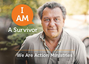 "A former homelss man says ""I am a survivor"""