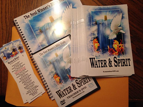 Water & Spirit Bible Study Starter