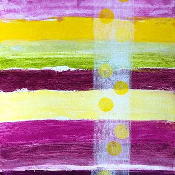 """Aus meiner Studienserie """"Farben & Formen"""""""