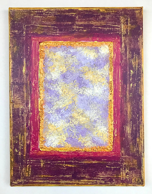 "Acrylbild ""Window to Heaven / Fenster zum Himmel"" Unikat / Originalgemälde"