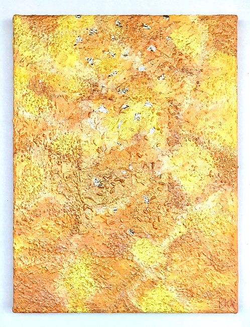 "Acrylbild ""Let your glory fall"" Unikat / Originalgemälde"