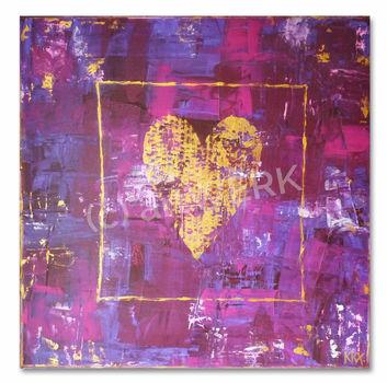 Achte auf dein Herz II / Watch your heart