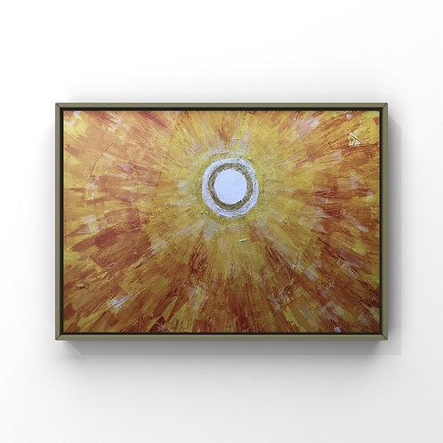 """Kunstdruck Kunstposter Wandkunst DIN A3 """"LICHT"""""""