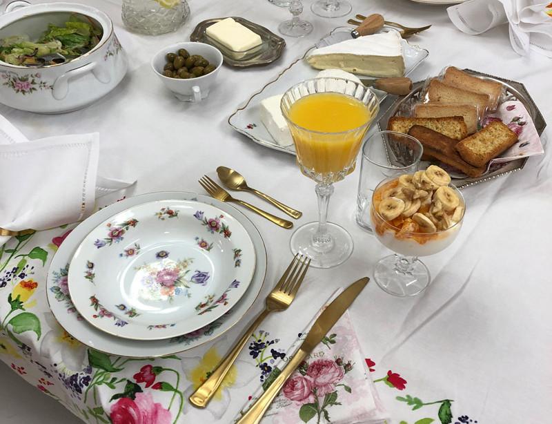 ארוחת בוקר לחברה