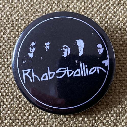 Rhabstallion Metal Pin Badge