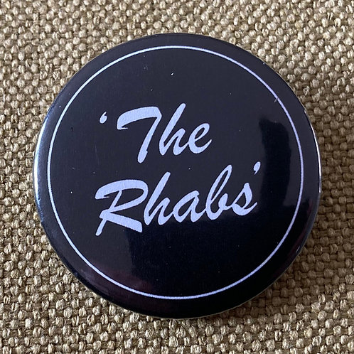 The Rhabs Pin Badge