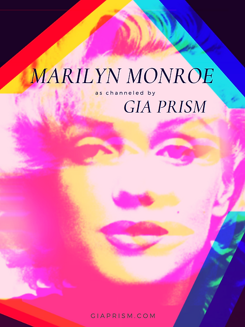 """Becoming More"" - eBook - Marilyn Monroe Channeled by Gia Prism"