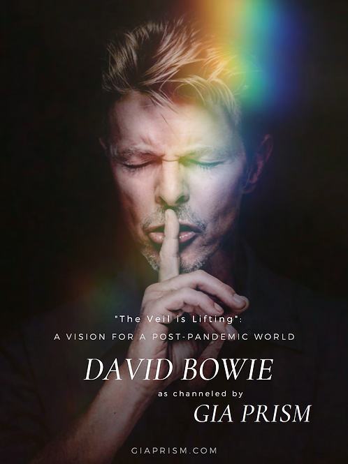 """""""The Veil is Lifting"""" - eBook - David Bowie channeled by Gia Prism"""