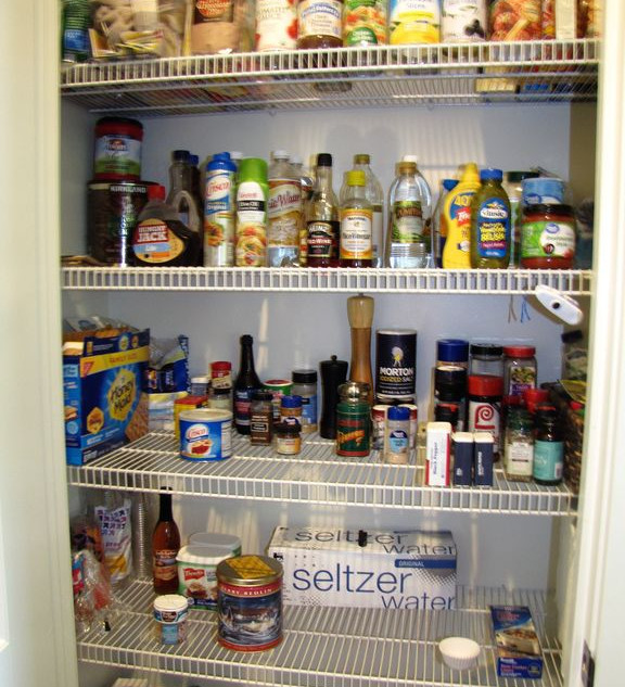 PantryJust in case you forget an item, a well stocked pantry is available to you