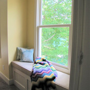 Sneak a private moment amongst the trees with lake view, in double queen bedroom