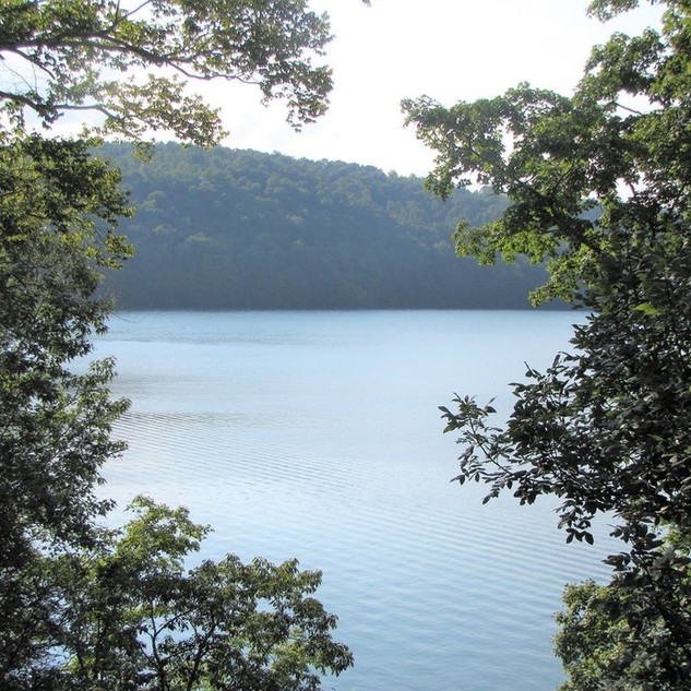 Breathtaking view of Norris Lake from both decks & most rooms, in the house