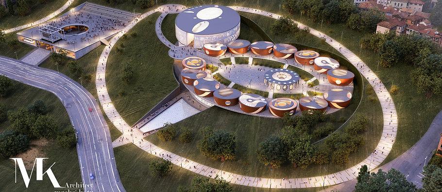 משה כץ אדריכל השראה ויצירתיות בית ספר המהוה חלק הסביבה העירונית ומאפשר פעלויותשונותבעיר ובמתחם לארך כלהיום