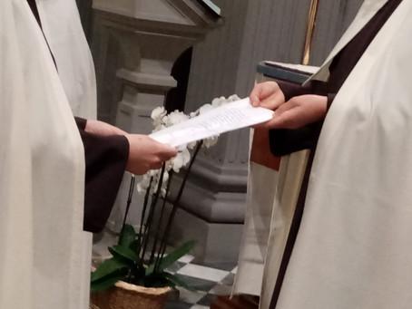 Rinnovo dei voti religiosi