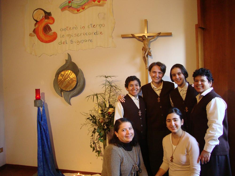 Irena e il gruppo di noviziato