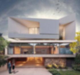משה כץ אדריכל עיצוב  ווילה בית פרטי (6).