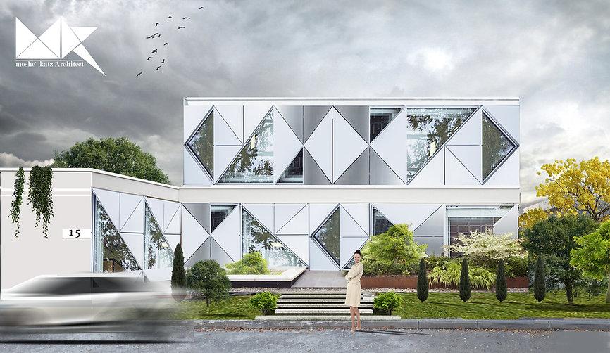 וילה בהרצליה פיתוח בית דינמי חכם אדריכלות משה כץ