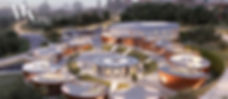משה כץ אדריכל השראה וסקרנות בת ספר ייחוד שמתוכנן כתוצאה ממחקר עם ילדם בכל הגילאים ובהבנה של הצרכים המיוחדים של הלקוחות הקטנים מבנהמחומרים טבעיים המשתלב בסביבת