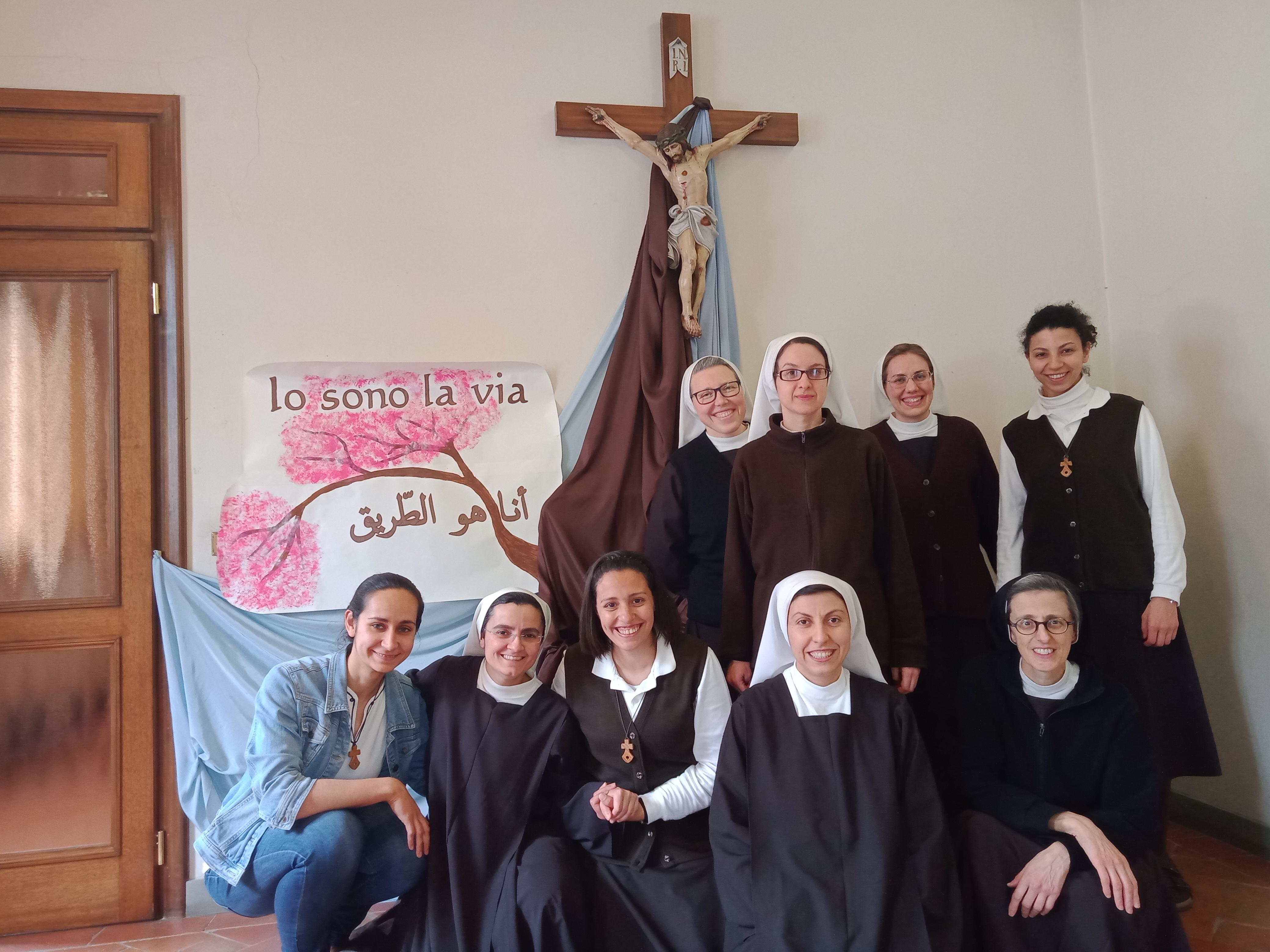 Ingresso in Noviziato di Christen