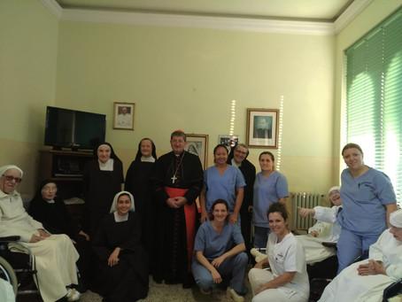 Visita pastorale in Casa Madre