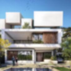 משה כץ אדריכל עיצוב  ווילה בית פרטי (2).