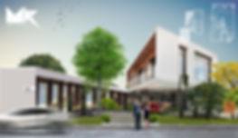 בית פרטי וילה בצפון עיצוב ותכנון משה כץ אדריכל