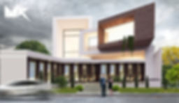 בית פרטי וילה בסביון עיצוב ותכנון אדריכלות משה כץ