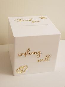 Wishing well box