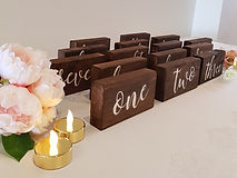 Magic Moments Event Hire Table Numbers.j
