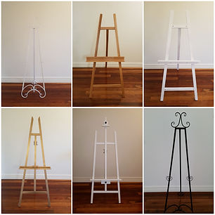 Easels for hire.jpg
