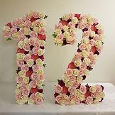 Floral number 12