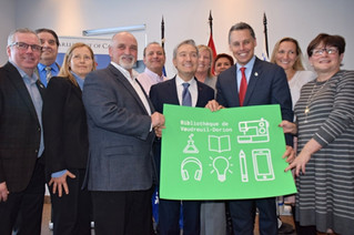 Federal and provincial governments contribute to new $7.5 million Vaudreuil-Dorion library