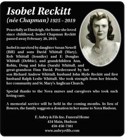 Isobel Reckitt