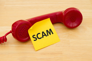Caution – Phone scams in our region