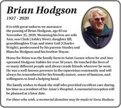 Brian Hodgson
