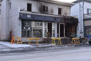 Suspicious blaze in Rigaud