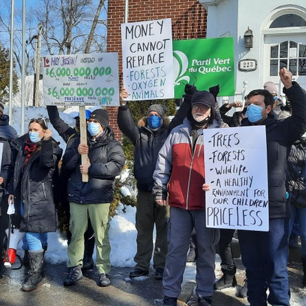 Another protest in the bid to halt NDIP development