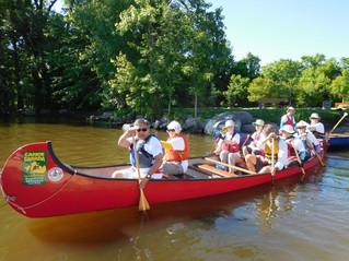 Hudson wishes bon voyage to Ottawa-bound voyageurs in celebration of Canada Day
