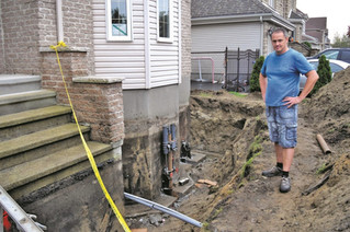 Another St. Lazare home undergoes costly foundation repairs