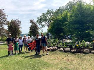 Butterfly volunteers land in Hudson