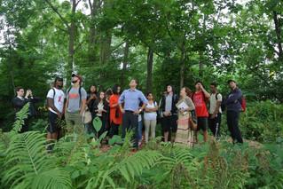 Vanier students explore socio-economic history in Hudson