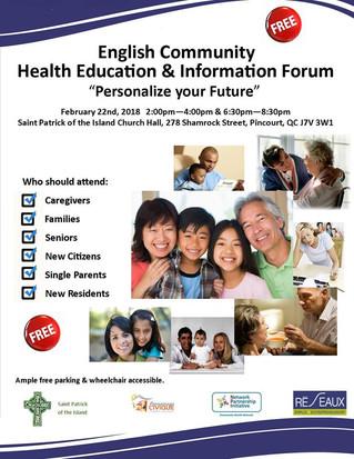 Health education & information forum